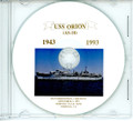 USS Orion AS 18 Decommissioning Program on CD 1993
