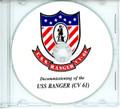 USS Ranger CV 61 Decommissioning Program on CD 1993