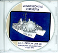 USS Ortolan ASR 22  Commissioning Program on CD 1973