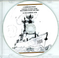 USS Moosbrugger DD 980 Commissioning Program on CD 1978