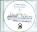 USS Cape Cod  AD 43 Commissioning Program on CD 1982