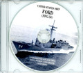 USS Ford FFG 54 Commissioning Program on CD 1985