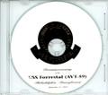 USS Forrestal AVT 59 Decommissioning Program on CD 1993