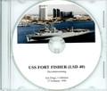 USS Fort Fisher LSD 40 Decommissioning Program on CD 1998
