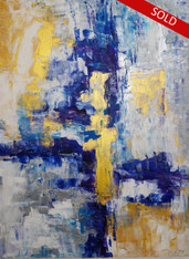 Abstract 348 CONTEMPORARY ORIGINAL ACRYLIC PAINTING ON CANVAS