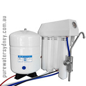 4 stage reverse osmosis undersink system