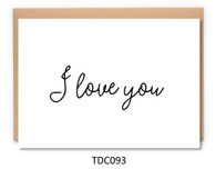 TDC093 - I love you