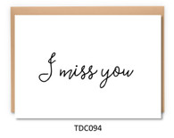 TDC094 - I miss you
