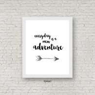 TDP047 Everyday is a new adventure
