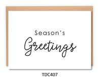 TDC407 - Season's Greetings