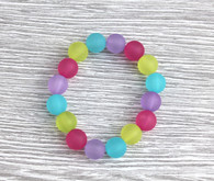 Teesh Frosted Rainbow Bracelet