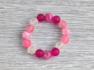Teesh Frosted Rose Bracelet