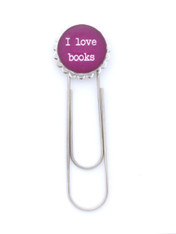 I Love Books Bookmark
