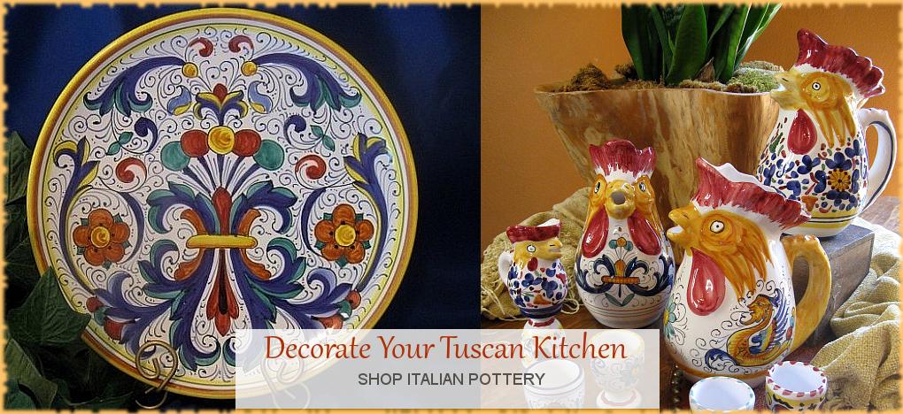 Italian Pottery Italian Ceramics Discount Prices | BellaSoleil.com Since 1996
