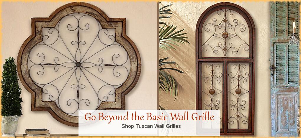 Tuscan and Mediterranean Wall Decor| BellaSoleil.com Since 1996 FREE Shipping