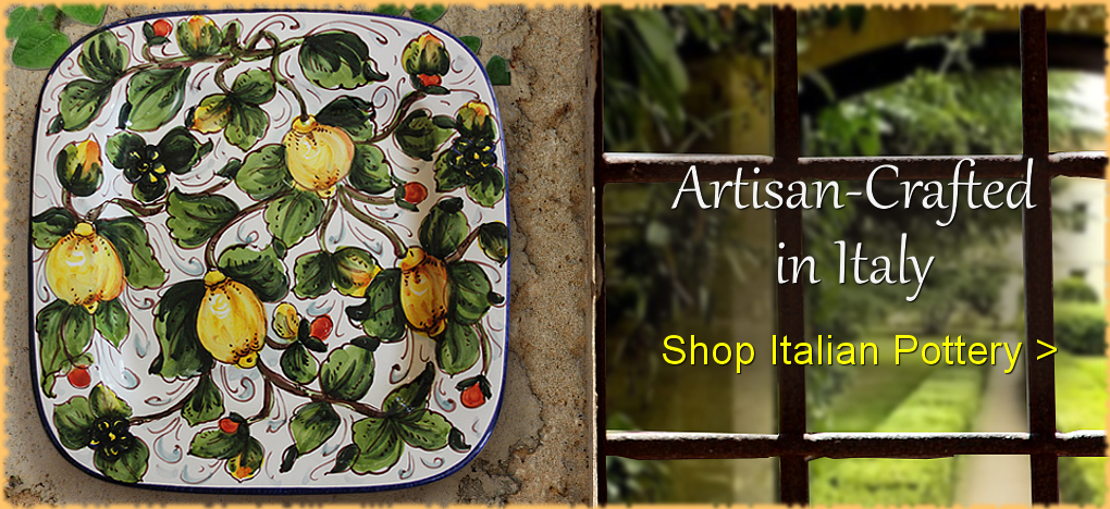 Italian Pottery at Discount Prices | BellaSoleil.com Tuscan and Mediterranean Decor Since 1996