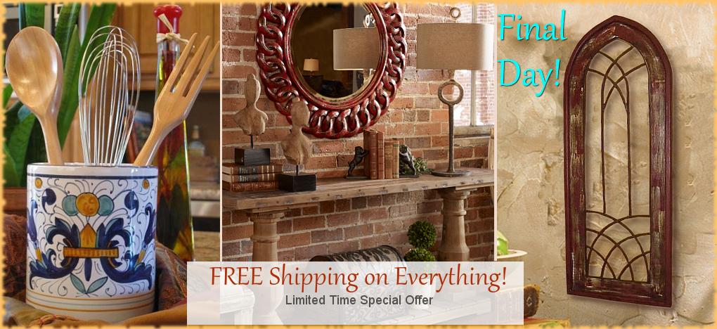 Tuscan Decor and Italian Pottery Sale | BellaSoleil.com Italian Pottery and Tuscan Decor Since 1996