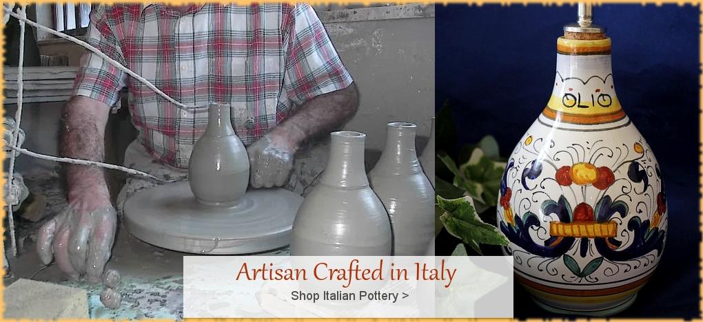 Italian Pottery and Italian Ceramics at Discount Prices | BellaSoleil.com Since 1996