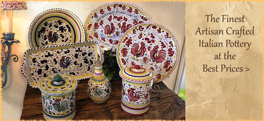 BellaSoleil.com Italian Pottery
