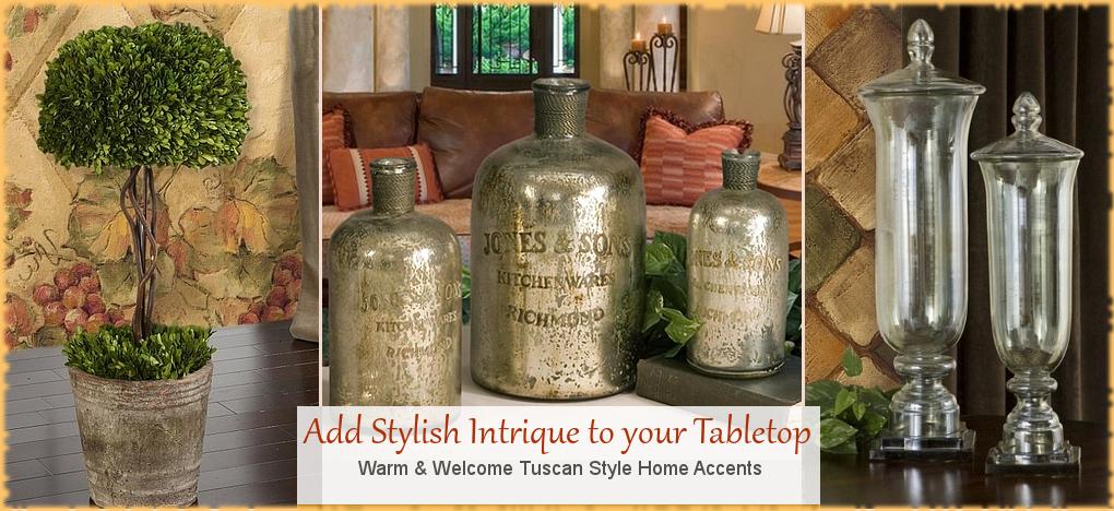 Tuscan Home Decor, Mediterranean Style Home Decor, FREE Shipping, No Sales Tax   BellaSoleil.com Since 1996