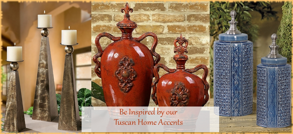 Tuscan Home Decor, Mediterranean Style Home Decor, FREE Shipping, No Sales Tax | BellaSoleil.com Since 1996