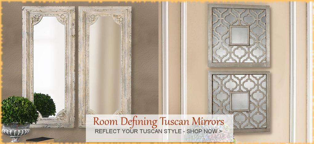 BellaSoleil.com Tuscan Mirrors