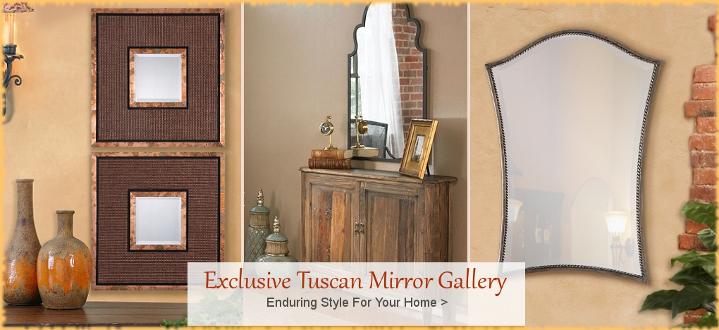 BellaSoleil.com Tuscan Mirrors, Tuscan Home Decor | Free Shipping, No Sales Tax
