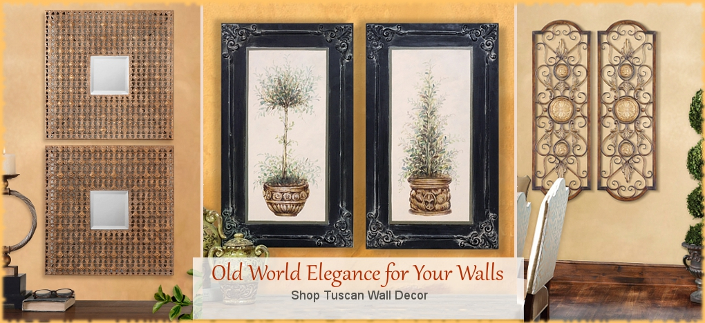 BellaSoleil.com Tuscan Wall Decor and Mediterranean Home Accents | Free Shipping, No Sales Tax