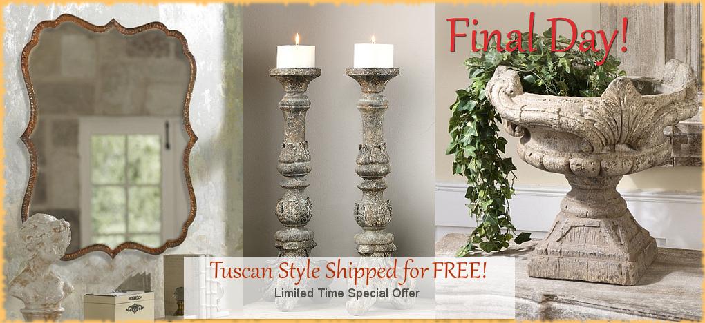 Tuscan Decor Italian Pottery FREE SHIPPING   BellaSoleil.com Since 1996