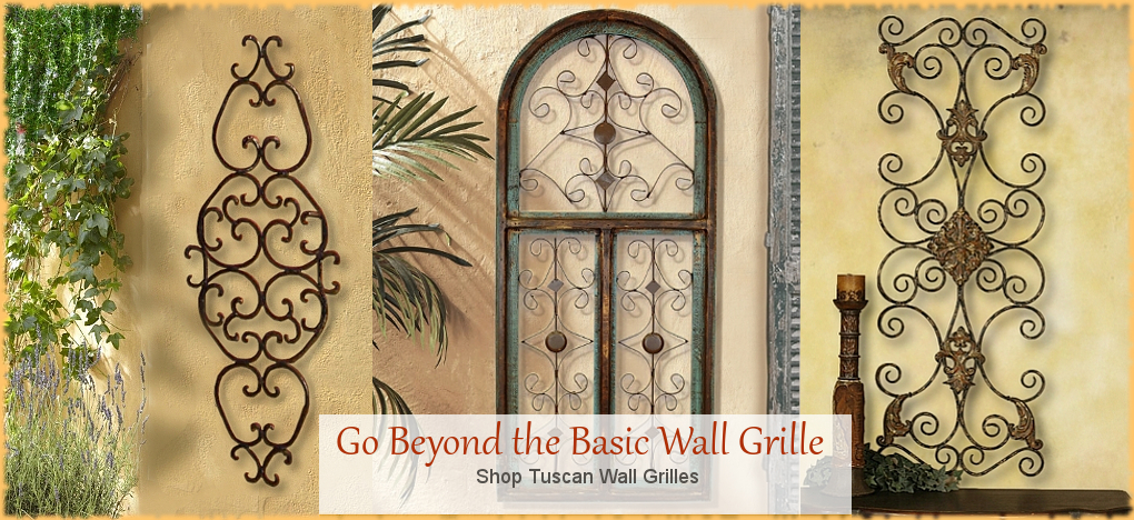 Tuscan and Mediterranean Wall Decor| BellaSoleil.com Since 1996 FREE Shipping