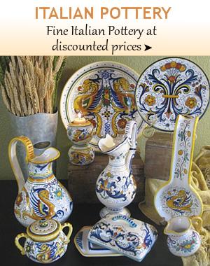 Fine Italian Pottery From Tuscany Deruta Vietri Florence Sicily Bellasoleil