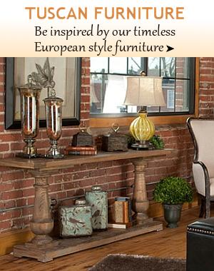 Tuscan Furniture Bellasoleil Com Tuscan Decor And Italian Pottery