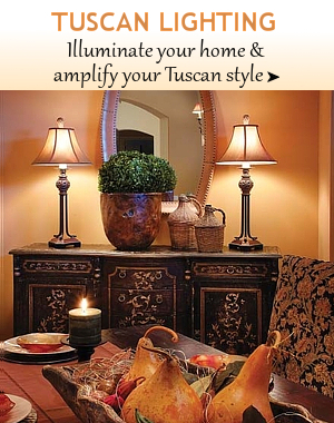 Tuscan Lamps Tuscan Lighting Bellasoleil Com Tuscan Decor And Italian Pottery
