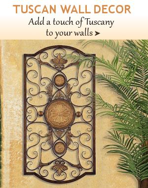 tuscan wall decor bellasoleilcom tuscan decor and italian pottery - Tuscan Wall Decor