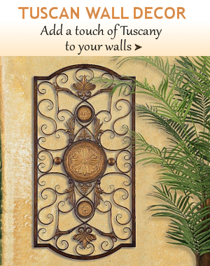 ... Tuscan Wall Decor | BellaSoleil.com Tuscan Decor and Italian Pottery ...