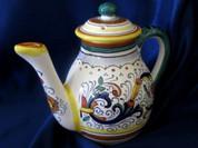 Deruta Ricco Teapot Coffee Pot
