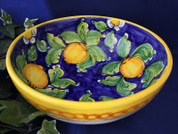 Italian Lemon Serving Bowl