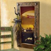 Old Door Rustic Mirror