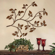 Iron Tree Branch Wall Decor, Tree Branch Wall Art