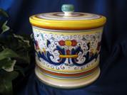 Deruta Ricco Biscotti Jar