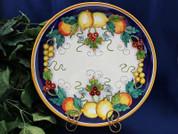 Deruta Lemon Plate, Deruta Plate