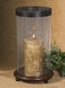 Tuscan Hurricane Lantern, Tuscan Candle Holder