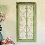 Tuscan Wall Grille, Fleur De Lis Wall Grille