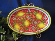 Deruta Lemon Platter