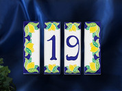 Italian House Numbers