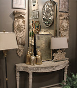 Old World Angel Wall Shelves