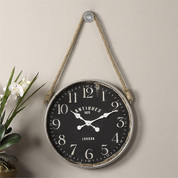 London Wall Clock, Rope Clock