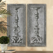 Antique Ornate Candlesticks, European Candlesticks