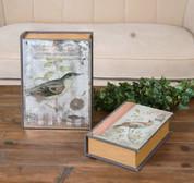 Book Storage Boxes, Bird Storage Boxes