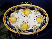 Deruta Lemon Platter Bowl